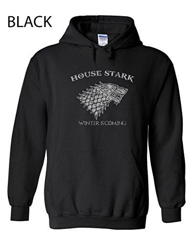 Swaffy Tees 85 House Stark Funny Hooded Sweatshirt
