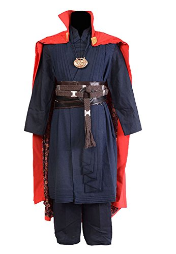 Men's Costume Doctor Strange Cosplay Costume (No necklace)