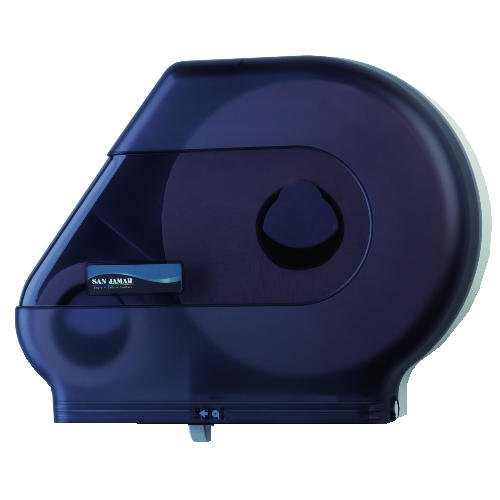 SANR6500TBK - Quantum Jumbo Vision Roll Dispenser With Stub Roll Compartment