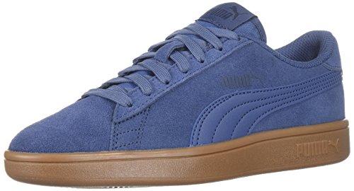PUMA Unisex-Kids Smash v2 SD Sneaker, Blue Indigo-Blue Indigo-Peacoat, 5 M US Big Kid by PUMA (Image #1)