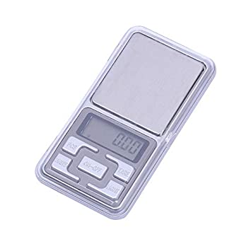 Báscula portátil digital pequeña, báscula electrónica de joyería de alta precisión, báscula de peso