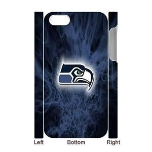LSQDIY(R) Seattle seahawks iPhone 4,4G,4S 3D Phone Case, Cheap iPhone 4,4G,4S Hard Back 3D Case Seattle seahawks
