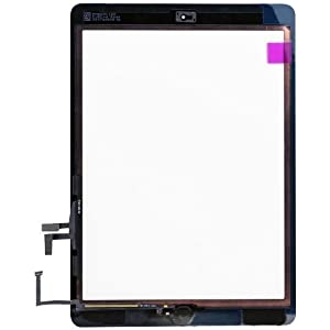 BlastCase Touchscreen Replacement for Apple iPad Air Front Touch Panel Touch Screen Digitizer (White)