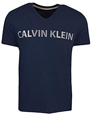 Calvin Klein Men's Short Sleeve T-Shirt With Reflective Chest Logo