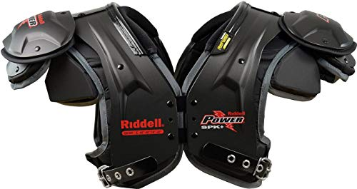Riddell Power SPK+ Adult Football Shoulder Pads - QB / WR