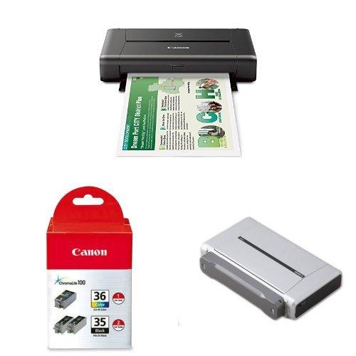 Wireless Mobile Printer Battery Bundle