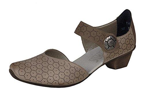 Zapatos beige Rieker para mujer HzeV9g