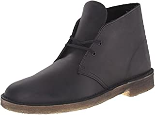 CLARKS Men's Desert Chukka Boot, Black Smooth, 11 Medium US (B00MO371D0) | Amazon price tracker / tracking, Amazon price history charts, Amazon price watches, Amazon price drop alerts