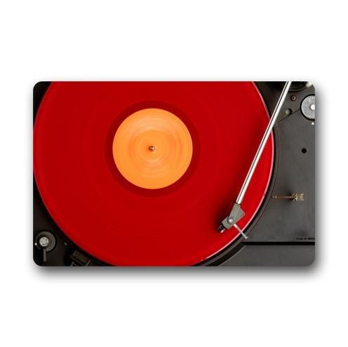 Elegante diseño especial de discos de vinilo Tocadiscos patrón ...