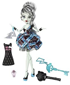 Monster High - Muñecas 1600 Cumplespantos Frankie (Mattel W9188)