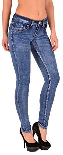 Basse ESRA Skinny Jean Pantalon Femmes S300 J106 Jean Jeans Taille tex en Femme by ZqxAwP