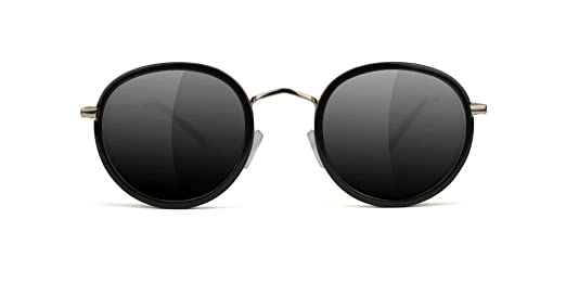 eeca3f154ce Amazon.com  Glassy Lincoln Black Sunglasses  Clothing