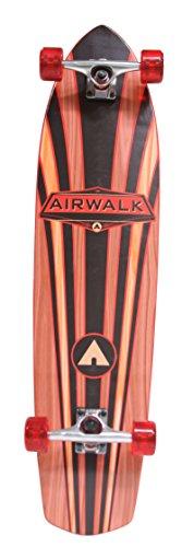 Airwalk 36 Longboard - Wood Grain, Orange (Skateboards Airwalk)