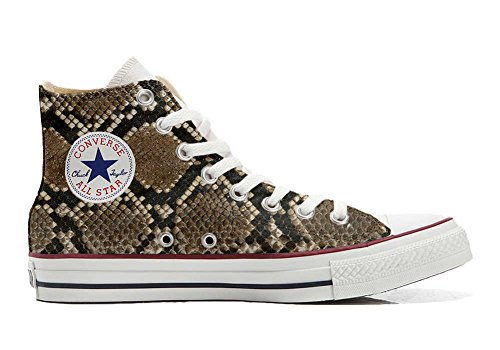 HANDMADE Producto Converse zapatos pitonate personalizados All Star Unisex pCxFwAqU