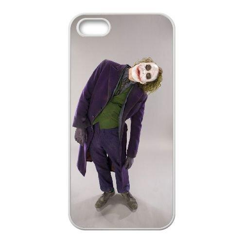 Batman Joker coque iPhone 4 4S Housse Blanc téléphone portable couverture de cas coque EBDOBCKCO09099