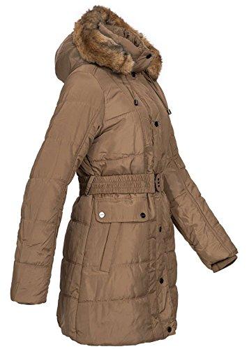 Seventyseven Lifestyle - Abrigo - para mujer caqui