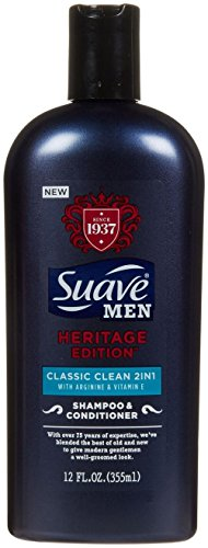 Suave Classic Clean Heritage 2 in 1 Shampoo - 12 oz