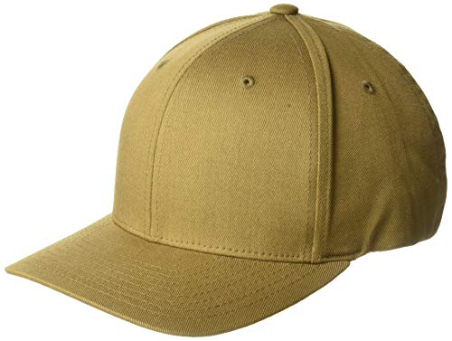 Flexfit Men's Athletic Baseball Fitted Cap, Coyote Brown, L/X-Large ()