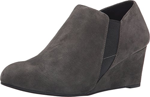 Vionic Elevated Stanton - Womens Wedge Boot Slate Grey - 7