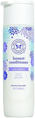 The Honest Company Truly Calming Lavender Conditioner | Hypoallergenic & Dermatologist Tested | Gentle for Babies | Tear Free | Paraben Free | Lavender Essential Oils & Chamomile | 10 Fluid Ounces