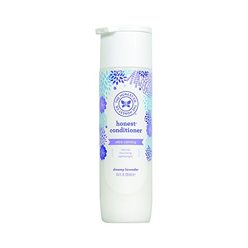 Honest Calming Lavender Hypoallergenic Conditioner with Naturally Derived Botanicals, Dreamy Lavender, 10 Fluid Ounce