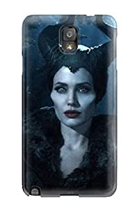 For Galaxy Note 3 Protector Case Maleficent Movie Desktop Phone Cover