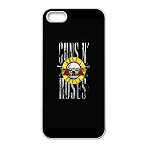 iPhone 4 4s Cell Phone Case White Guns n Roses 3 C6U3YF