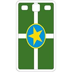 Jackson Mississippi MS City State Flag White Samsung Galaxy S3 - i9300 Cell Phone Case - Cover