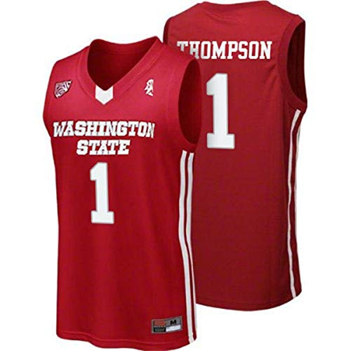 Washington State 1 College Basketball Jersey Red (M)