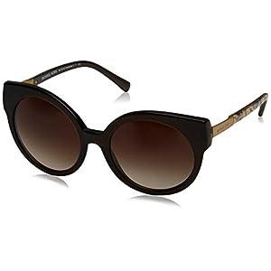 Michael Kors Women's Adelaide I Dark Brown Tigers Eye Sunglasses
