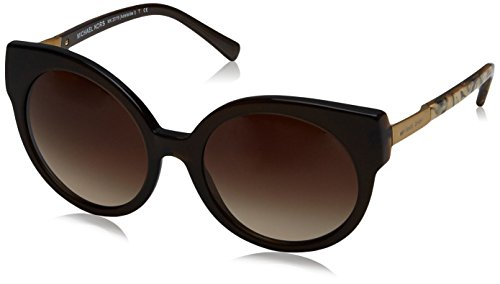 Michael Kors Women's Adelaide I Dark Brown Tigers Eye Sunglasses