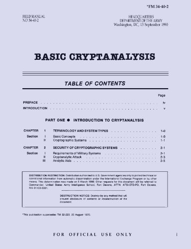 57 Best Cryptanalysis Books of All Time - BookAuthority