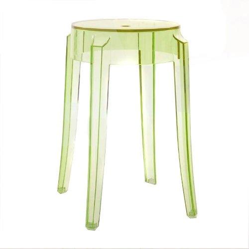 Exclusivo taburete Charles Ghost diseñado por Philippe Starck.