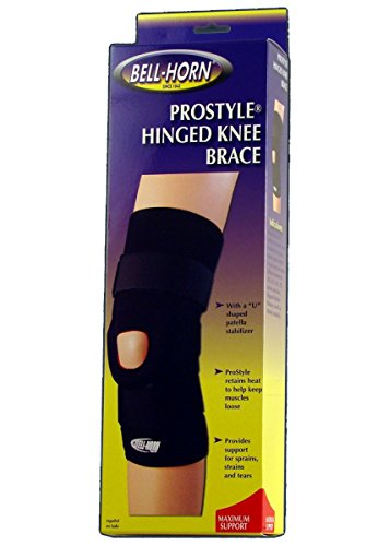 009826a805 Image Unavailable. Image not available for. Color: ProStyle Hinged Knee  Brace