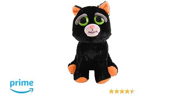 Mac Due Italy - Peluche Feisty Pets Gato, Color Negro, 323629: Amazon.es: Juguetes y juegos