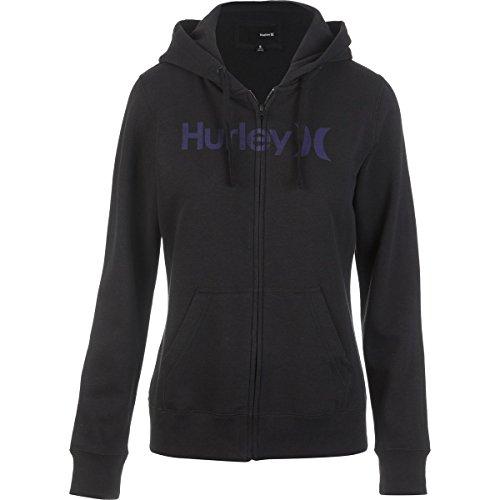 Hurley One & Only Icon Fleece Full-Zip Hoodie - Women's B...
