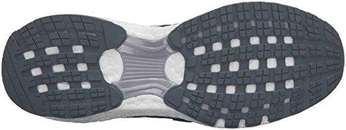 Adidas Performance Boost Energía 3 M zapatillas de running, mediados gris / negro / azul equipo, 6, Mid Grey/Black/Equipment Blue