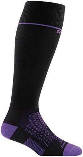 Darn Tough RFL Over The Calf Ultra-Light Sock - Women's Black Medium ()