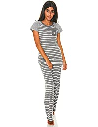Womens Top and Pajama Pants Lounge Sleepwear Set
