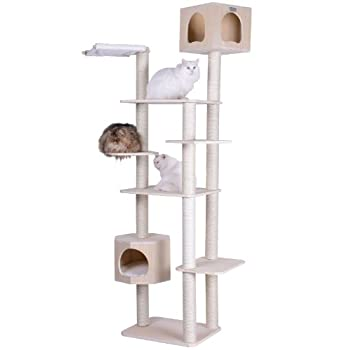 Image of Armarkat 89' Solid Wood Cat Tree Condo Furniture S8902 Pet Supplies