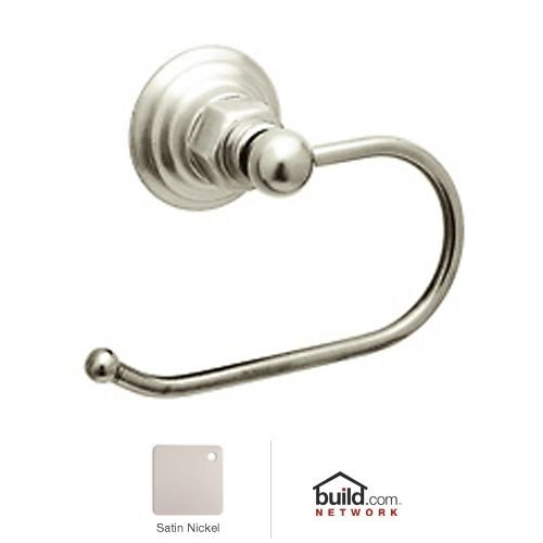 UPC 824438030213, Rohl ROT8STN Country Bath Hook Toilet Paper Holder in Satin Nickel