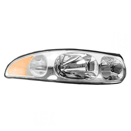 Buick Headlamp (Headlight Headlamp Right Hand RH Passenger Side for 00-05 Buick LeSabre Limited)