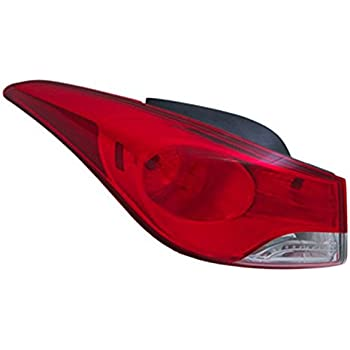 LH Left Hand Tail Light Rear Lamp For Hyundai Accent 4 Door Sedan 2011~2014