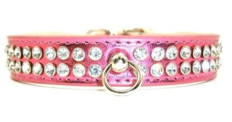 Celebrity Rhinestone Dog Collar – Pink – Size Extra Small, My Pet Supplies