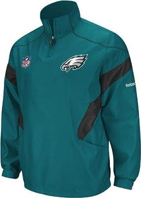 best sneakers ac477 c3912 Amazon.com : Reebok Philadelphia Eagles Sideline Hot Jacket ...