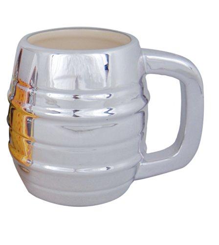Island Dogs Beer Keg Mug (Metallic Beer Mug compare prices)