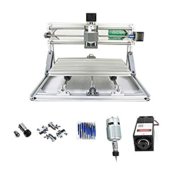 Purewords CNC 3018 Engraving Machine, 500mw Laser Engraver