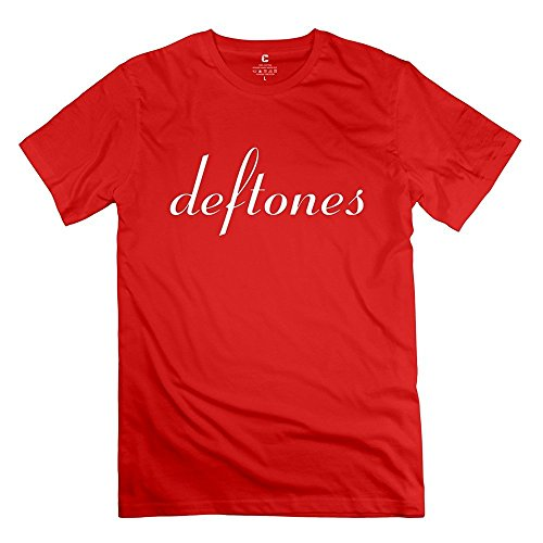 Men's Deftones Chino Moreno Band Logo Tshirt RoyalBlue