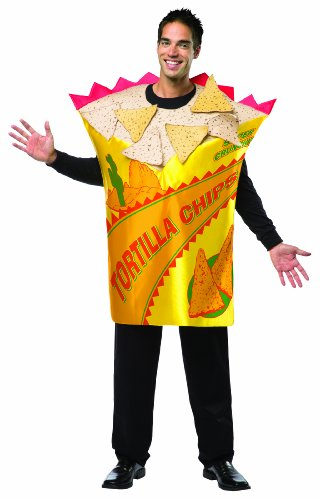 Chips Costume (Rasta Imposta Men's Tortilla Chips, Multi, One Size)