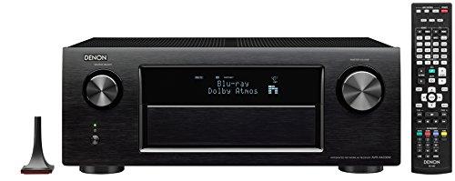 Denon AVR-X4200W 7.2 Surround AV-Receiver (Dolby Atmos, dts-X, WLAN, Bluetooth, Spotify Connect, 7+1 HDMI 3D/4k, 3 HDMI Ausgänge, HDCP 2.2, App steuerbar, drei Zonen, 7x200Watt) Schwarz